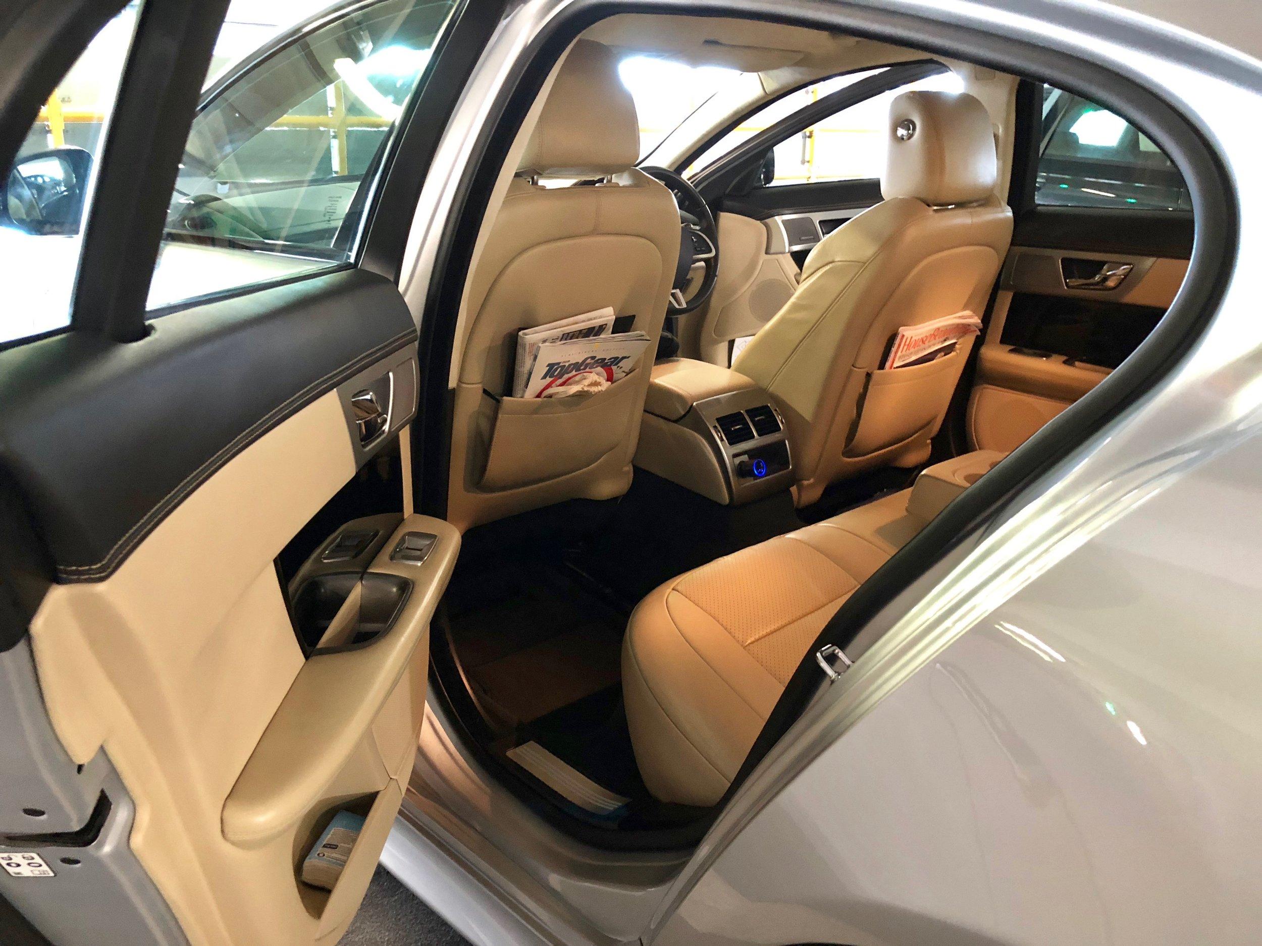 Jaguar XFS interior