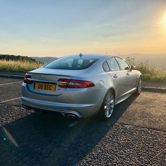 Chauffeur Hire Jaguar