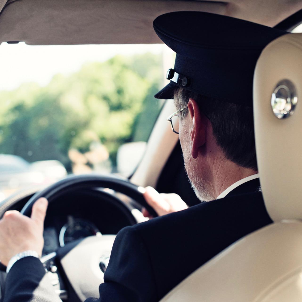 Chauffeur driven car