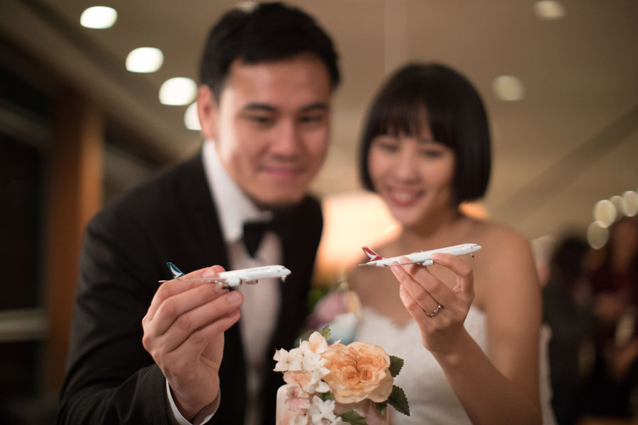 CATHAY DRAGON: MARRIAGE IN THE AIR