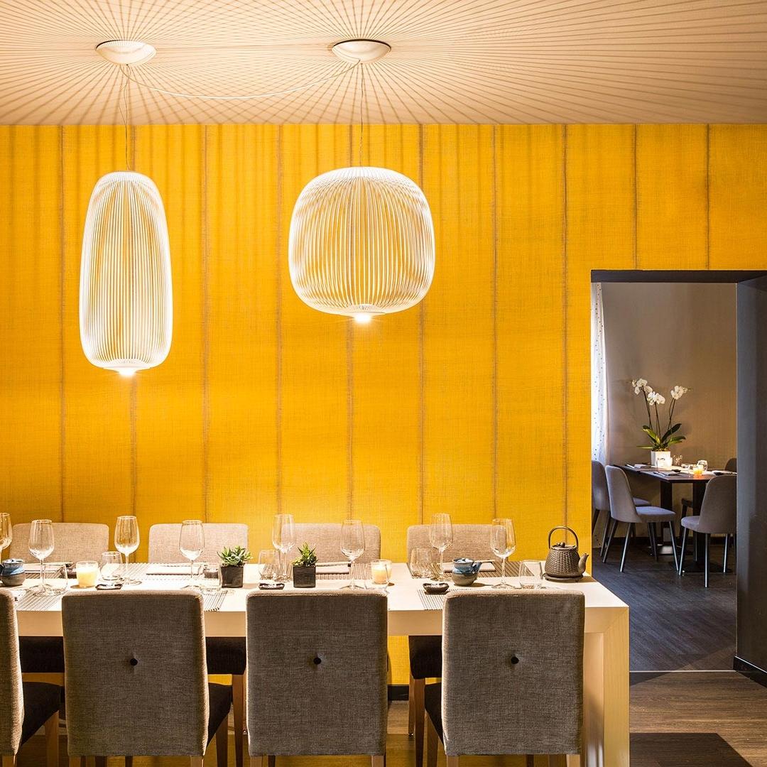 Spokes Large Pendant Contemporary Lighting Foscarini Italian Lighting