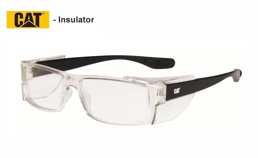 Caterpillar Insulator - Plastic frame for lightness. Not suitable for high prescriptions.