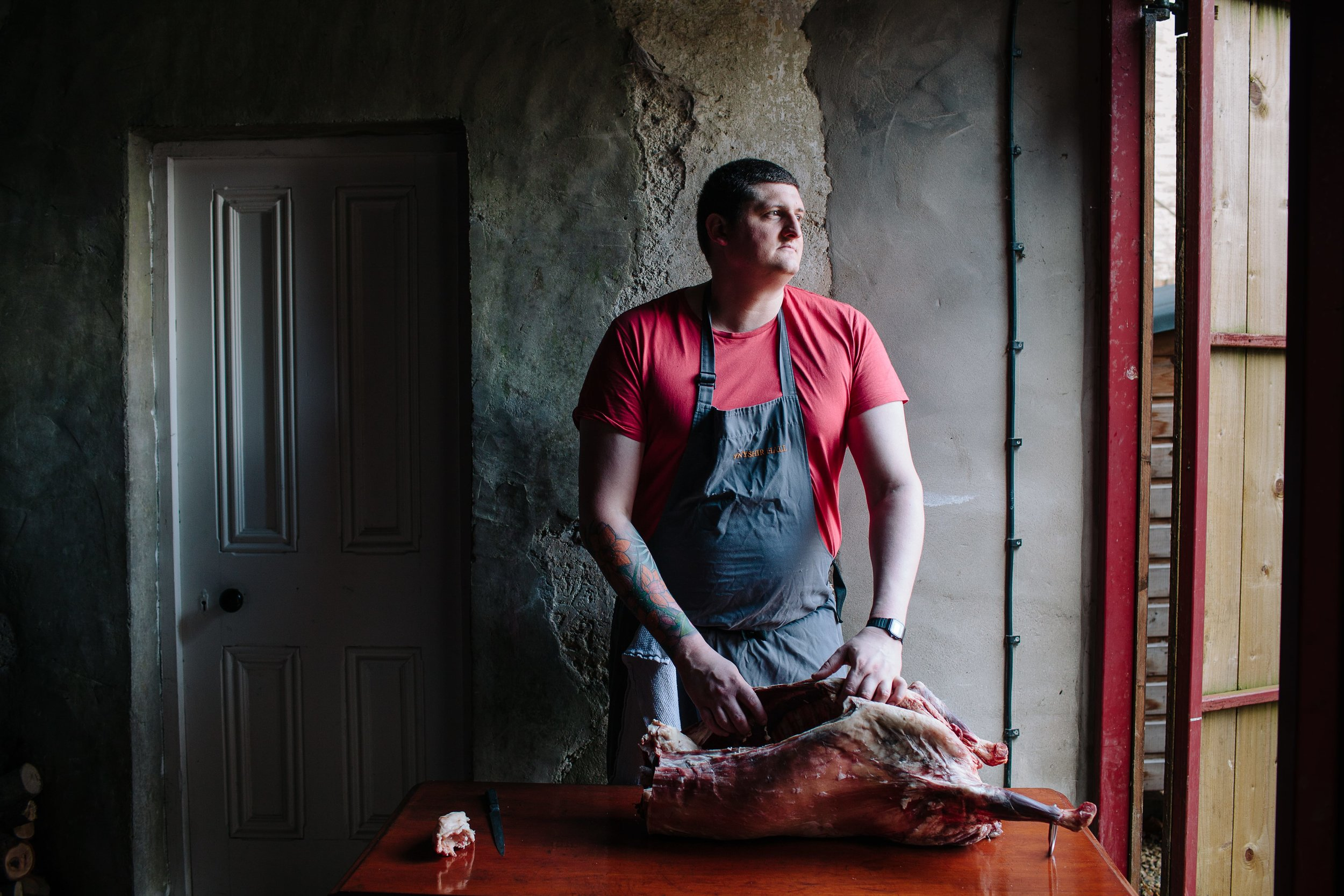 Gareth Ward, chef patron at Ynyshir Restaurant and Rooms, Wales