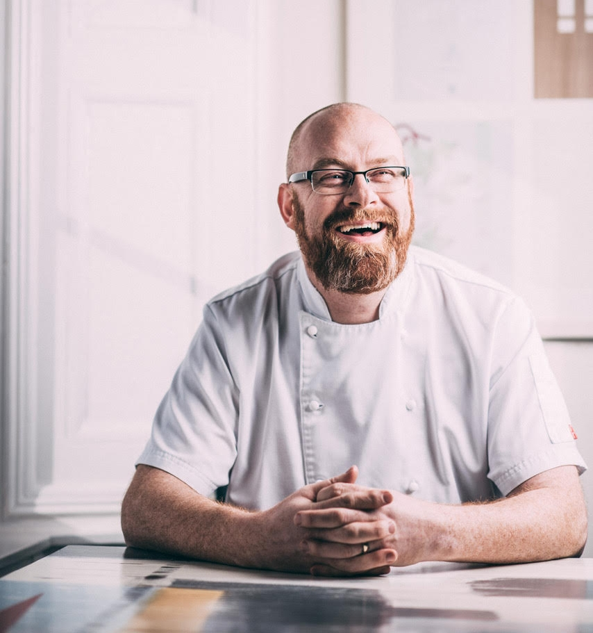 Simon Hulstone, chef patron of The Elephant in Torquay, Devon