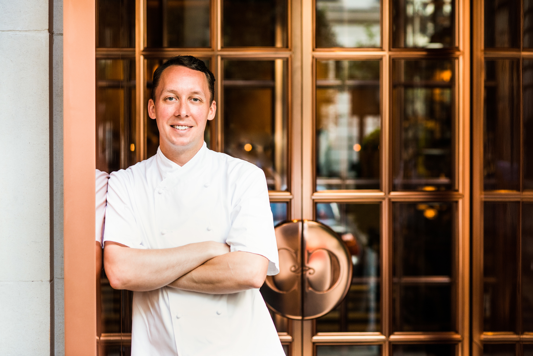 Calum Franklin, executive chef at Holborn Dining Room, Rosewood London