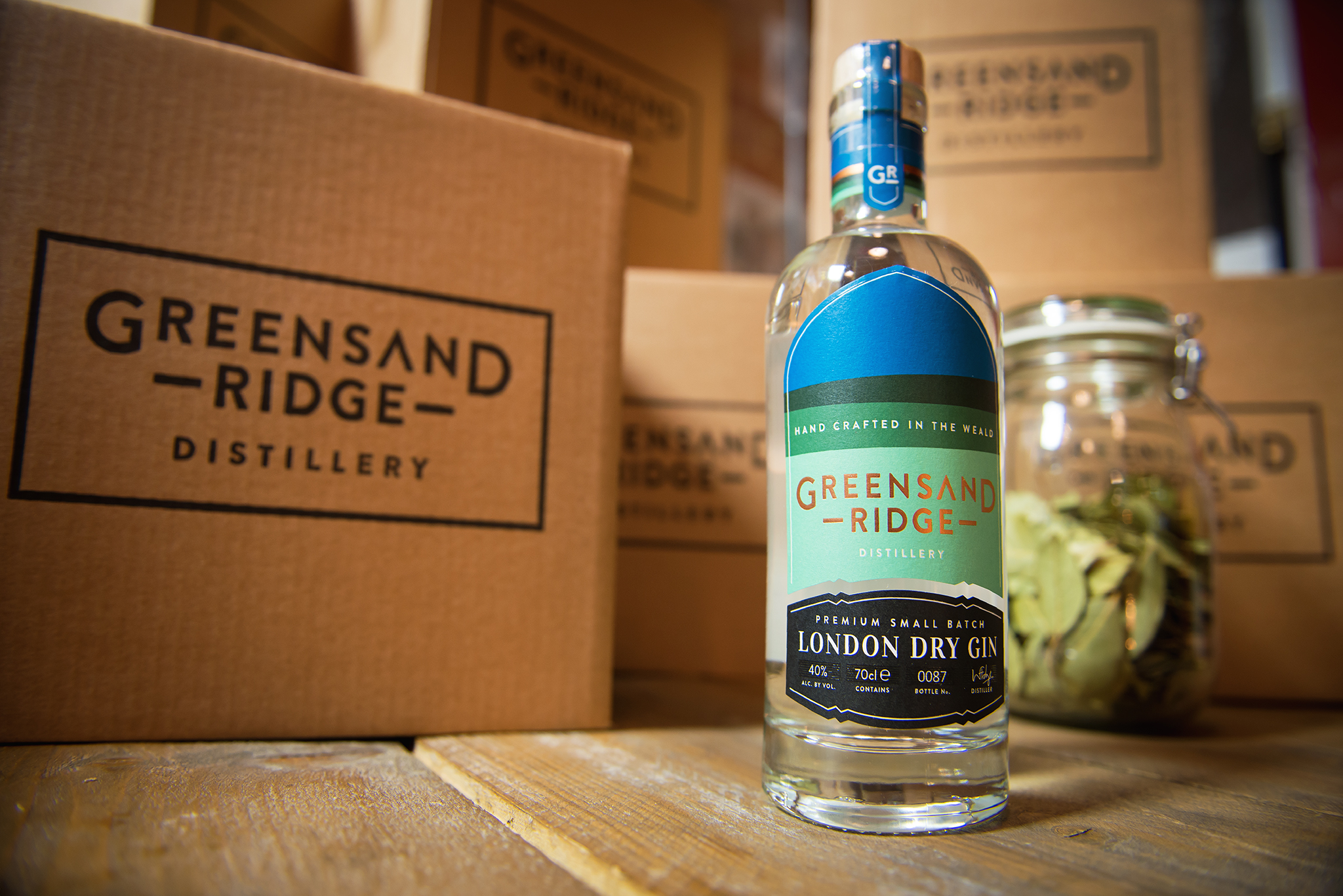 Greensand Ridge London Dry Gin