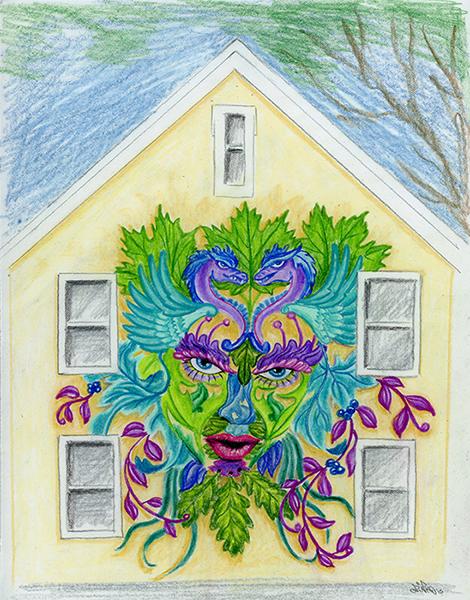 Gardiner Lady of the Leaf
