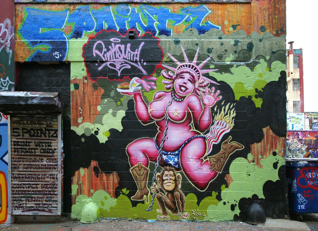 5 Pointz - Lady Liberty