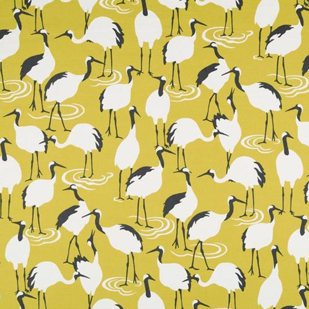 Winter Crane by DwellStudio in Golden Rod