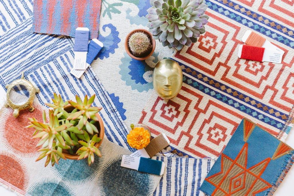 Take a trip to exotic, colorful lands with the Justina Blakeney Performance Fabrics with Crypton collection.