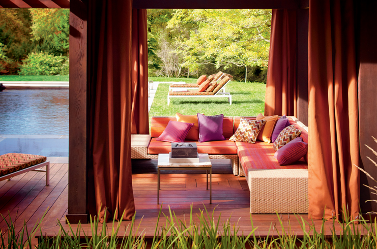 Sunbrella   performance fabrics create beautiful spaces indoors and out.
