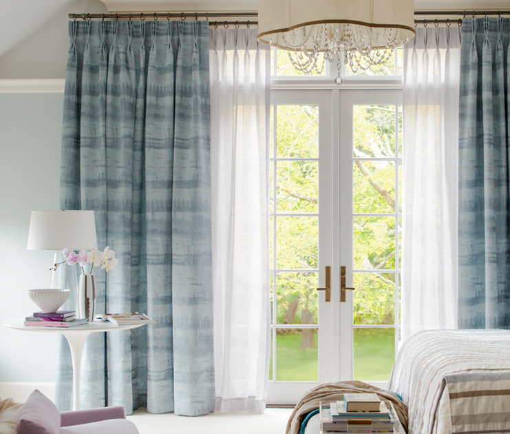 Drapes   are an opportunity to highlight a room's architecture, and a chance to celebrate or block out natural light when needed.