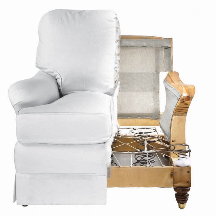 Calico's   furniture   comes with a Lifetime Warranty on frame and foundation.
