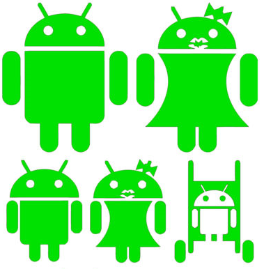 One Happy Android Family
