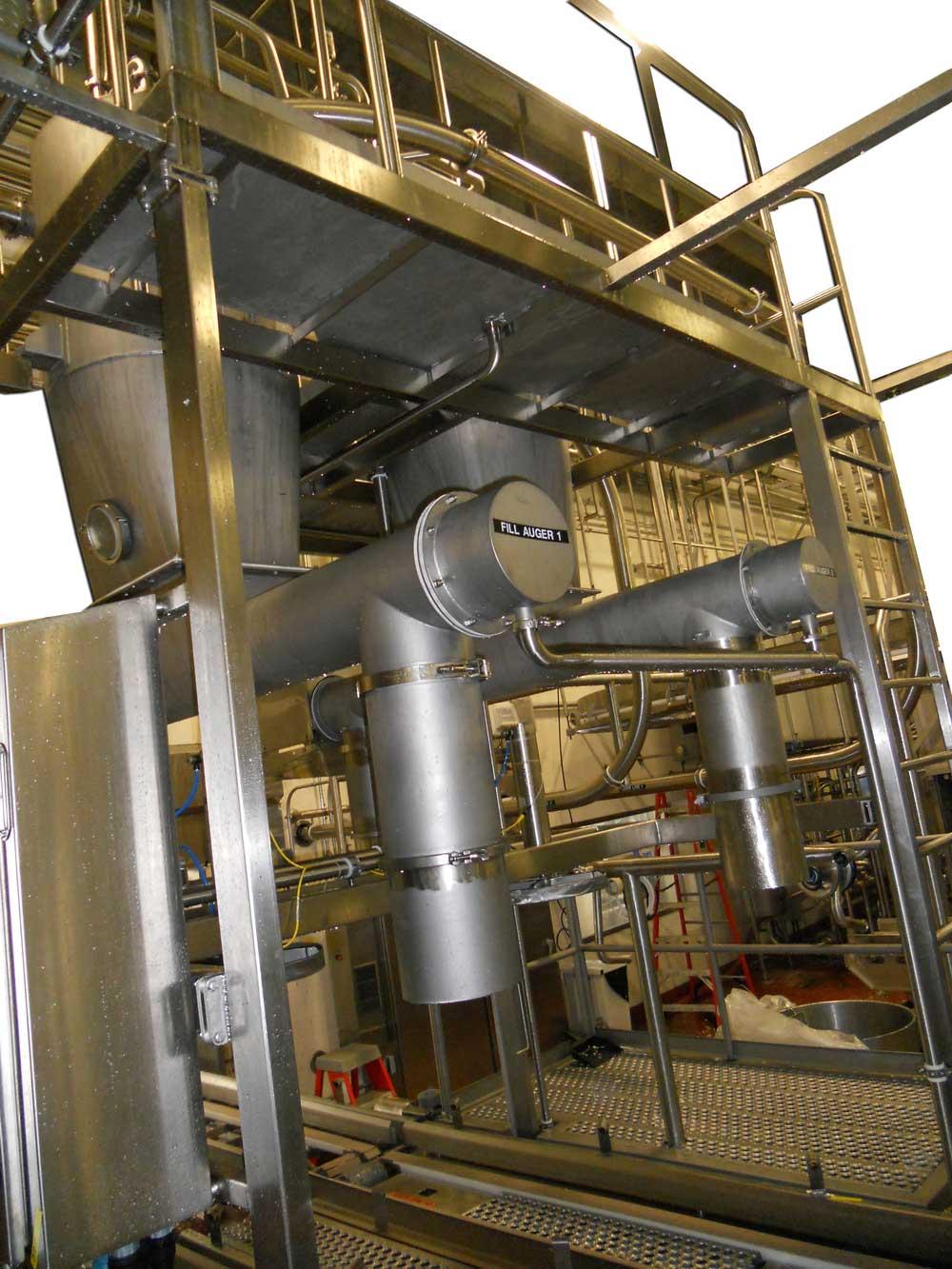 640lb Block, 500lb Barrel, 40lb, Automated Cheese Curd Fill Stations, Initial & Final Fill