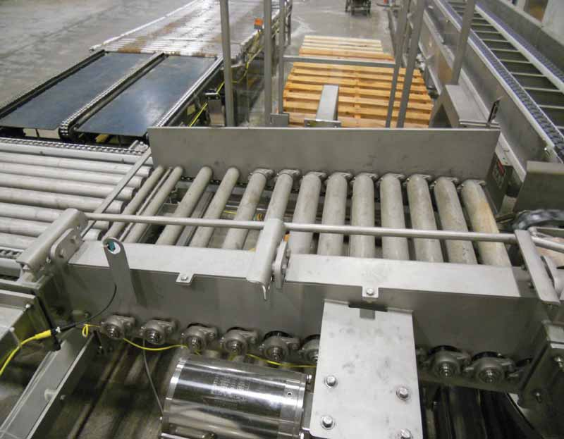 Automated Cheese Barrel, Powder, Ingredient, Box, Tote Palletizer