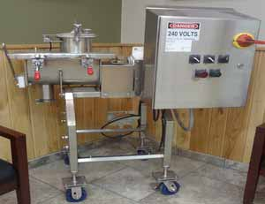 Stainless Steel Sanitary 10 lb Lab Process Cheese Cooker - Single or Twin Screw Models