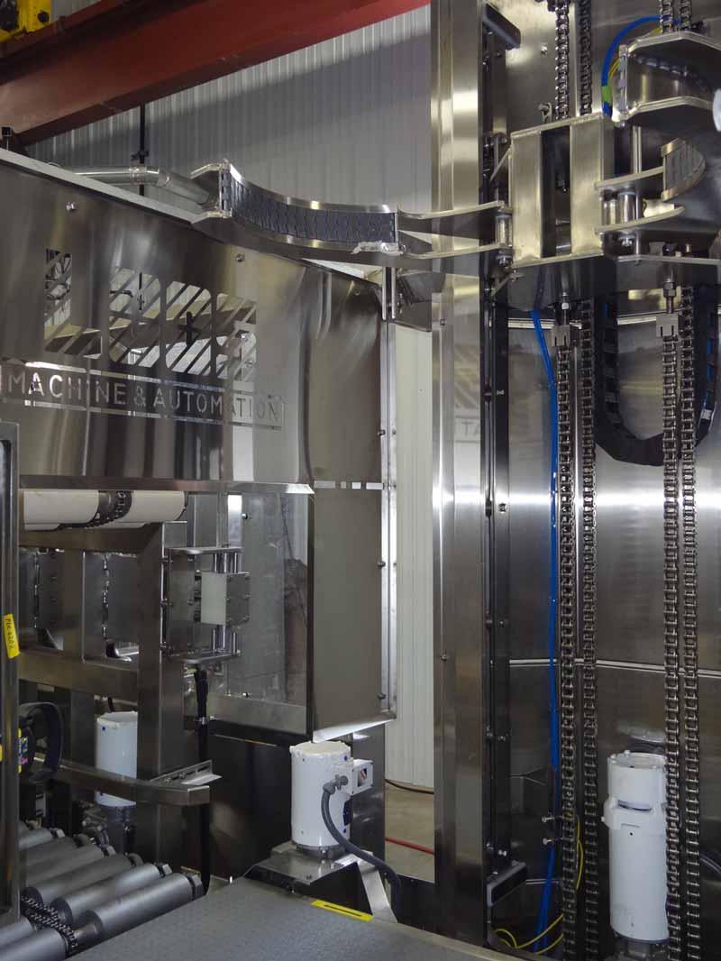 Automated Barrel Picker, Removes Barrels, 180 deg Inverter System