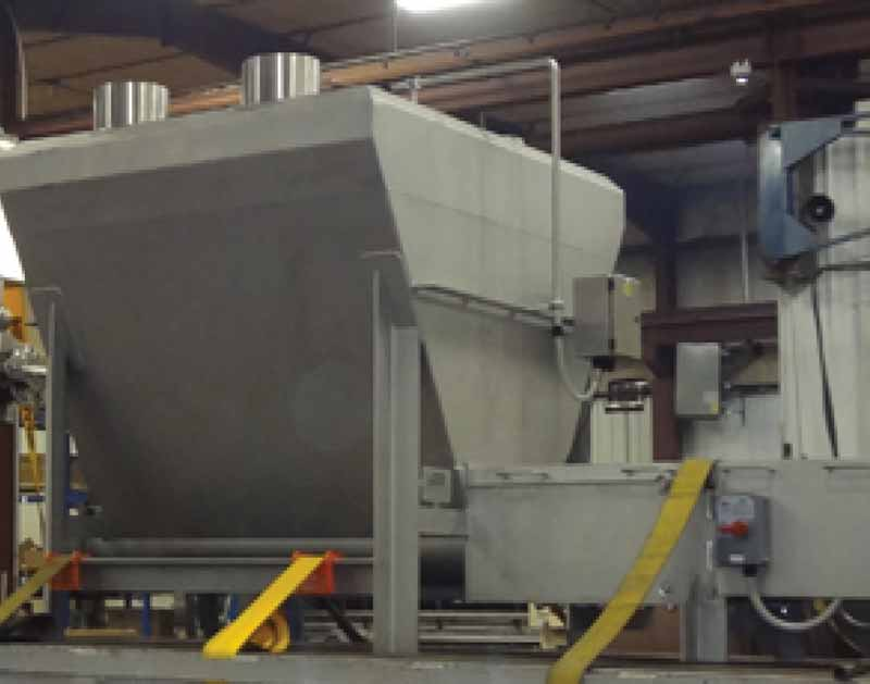 Jacketed for Heating or Cooling - Large Heavy Duty Surge Hoppers for Butter, Processed Cheese, Yogurt, Fruit, Meat - Feed Pumps