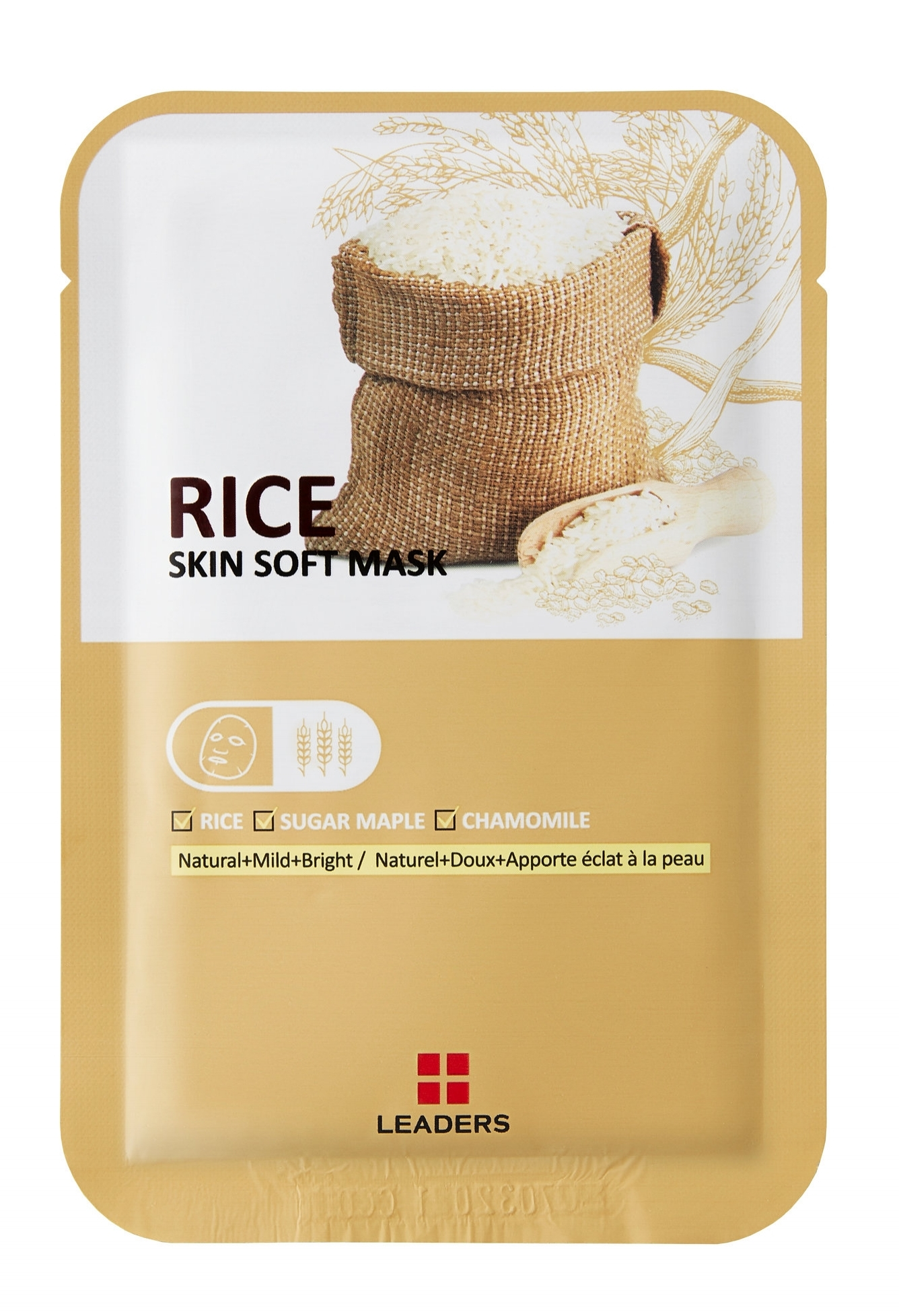 Leaders_Labotica Rice Skin Soft Mask_pouch_front.jpg