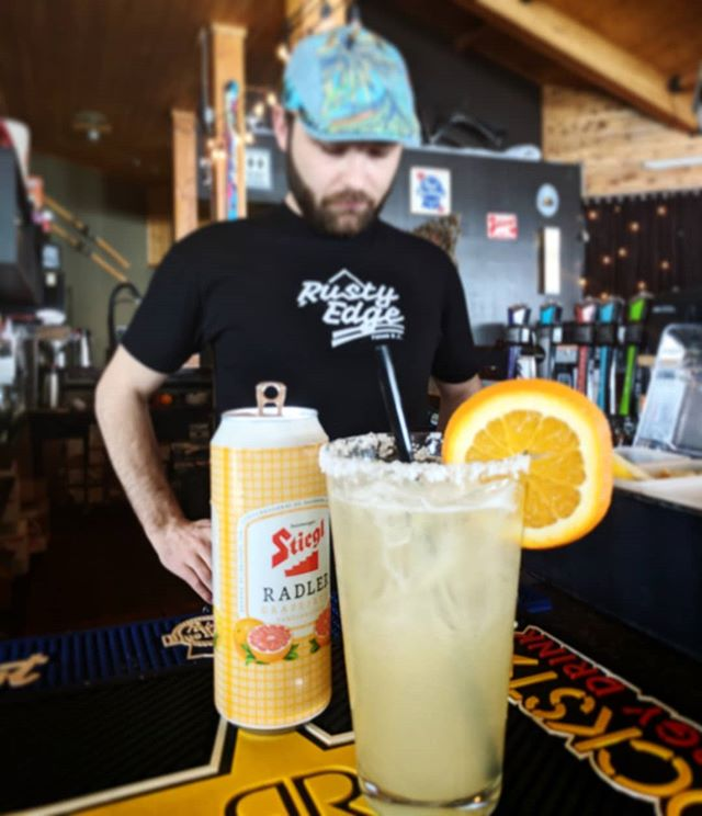 Thirsty? Come try the Radlerita! A Margarita meets Stiegl Grapefruit Radler. We are closed tomorrow (Saturday) but will be open for the Slopesoaker on Sunday!  #ferniestoke #theendisnear #ferniealpineresort