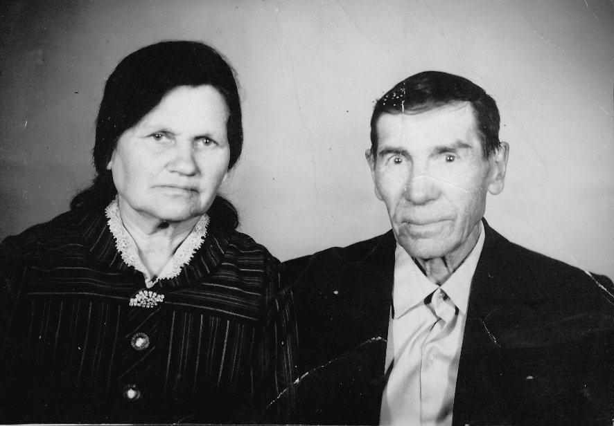Chetkov's mother and father Aleksander in 1970