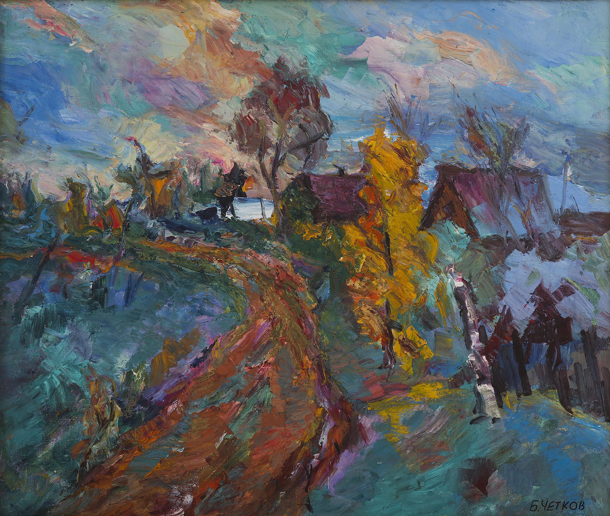 Autumn Staraya Ladoga
