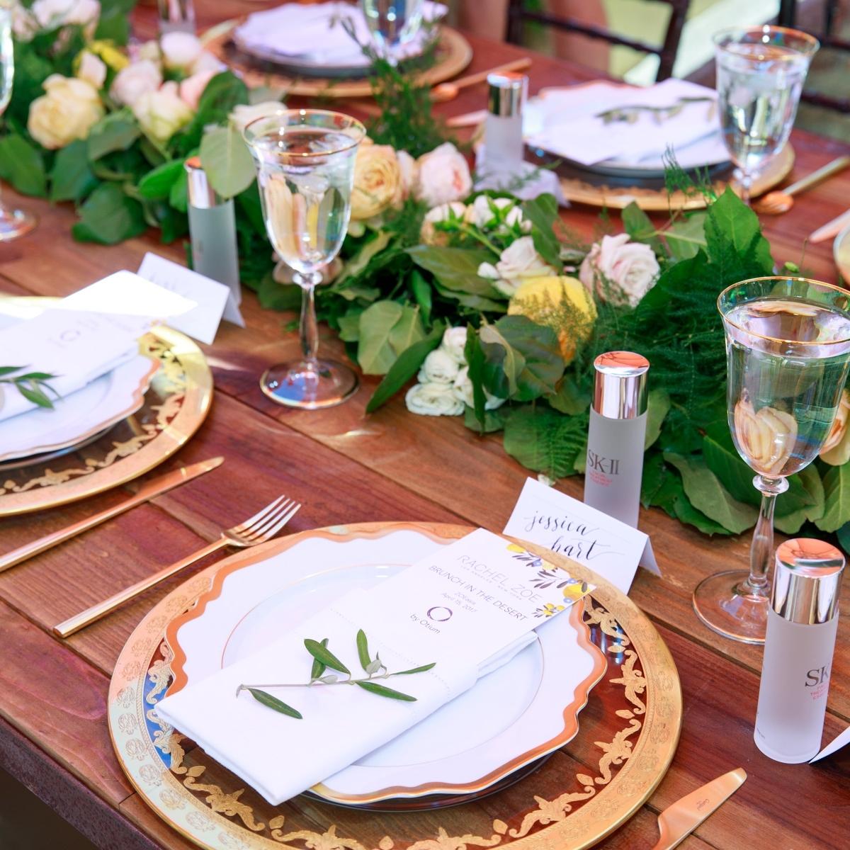 RACHEL ZOE, ZOEasis Coachella Event  I  Coordination : Best Events I  Flowers : Chelsea Carter Events I  Photographer : Andrew Noel