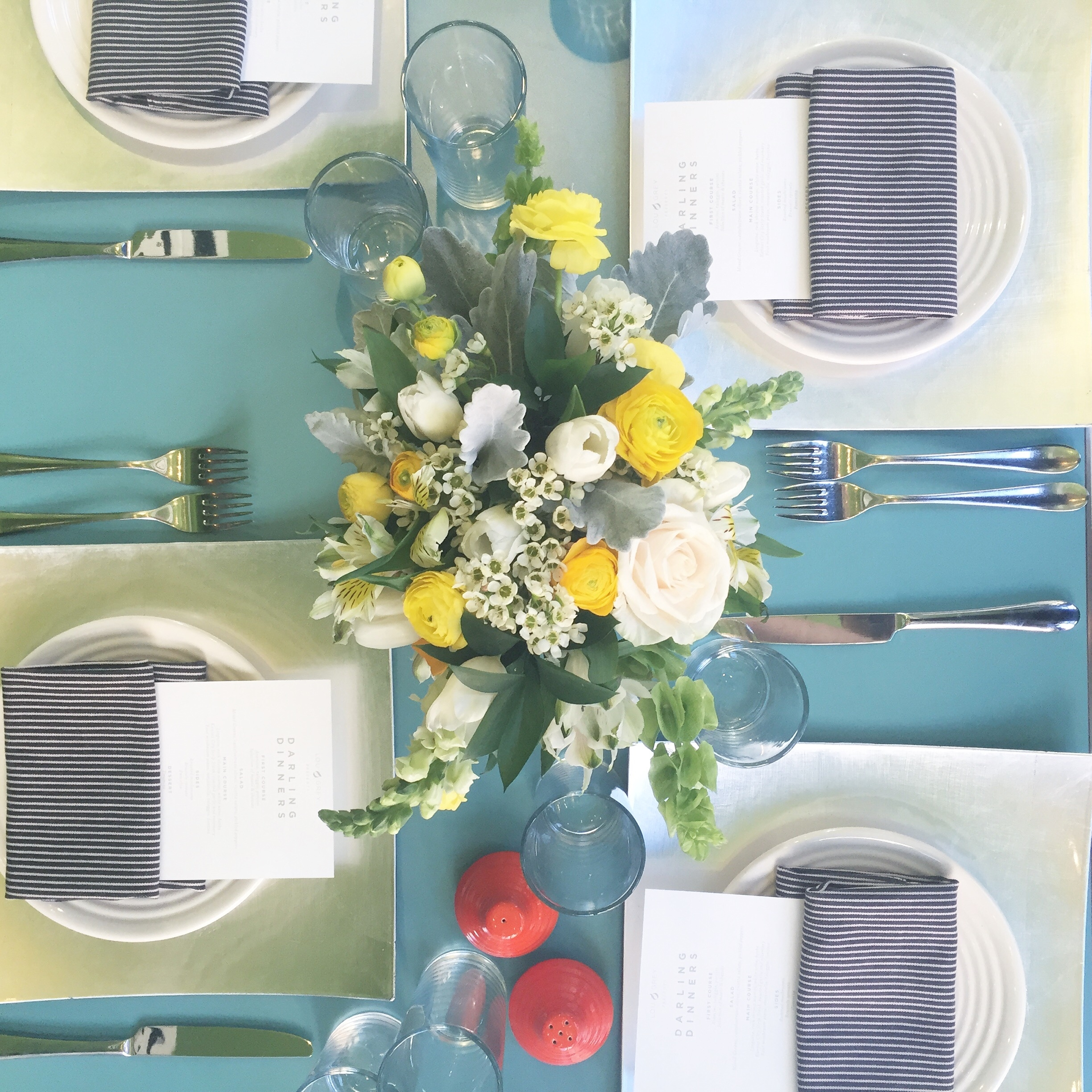 LOU & GREY x DARLING Dinner Dallas TX  I  Coordination, Flowers, Design : Chelsea Carter Events