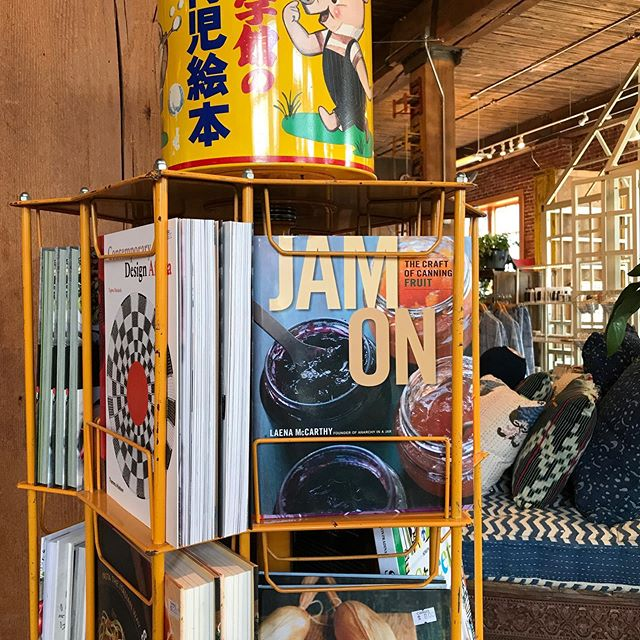 Spotted by @dianakuan at #cargoportland — my cookbook in the wild; hard to believe it's 7 years old.  #jamonit #canning #jamcookbooks #preservation #marmalade