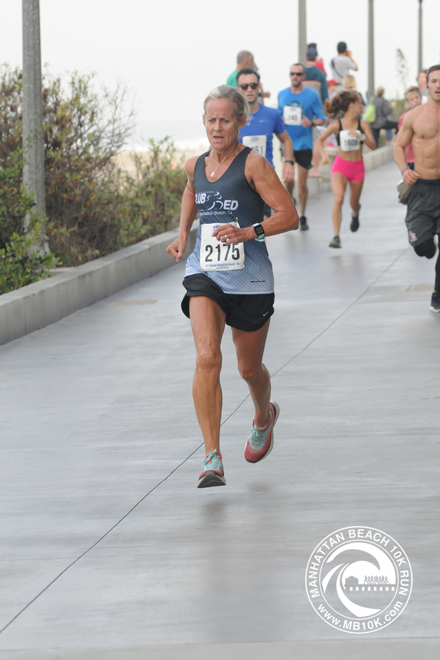 Renee Williams-Smith in the 2018 Manhattan Beach 10k.