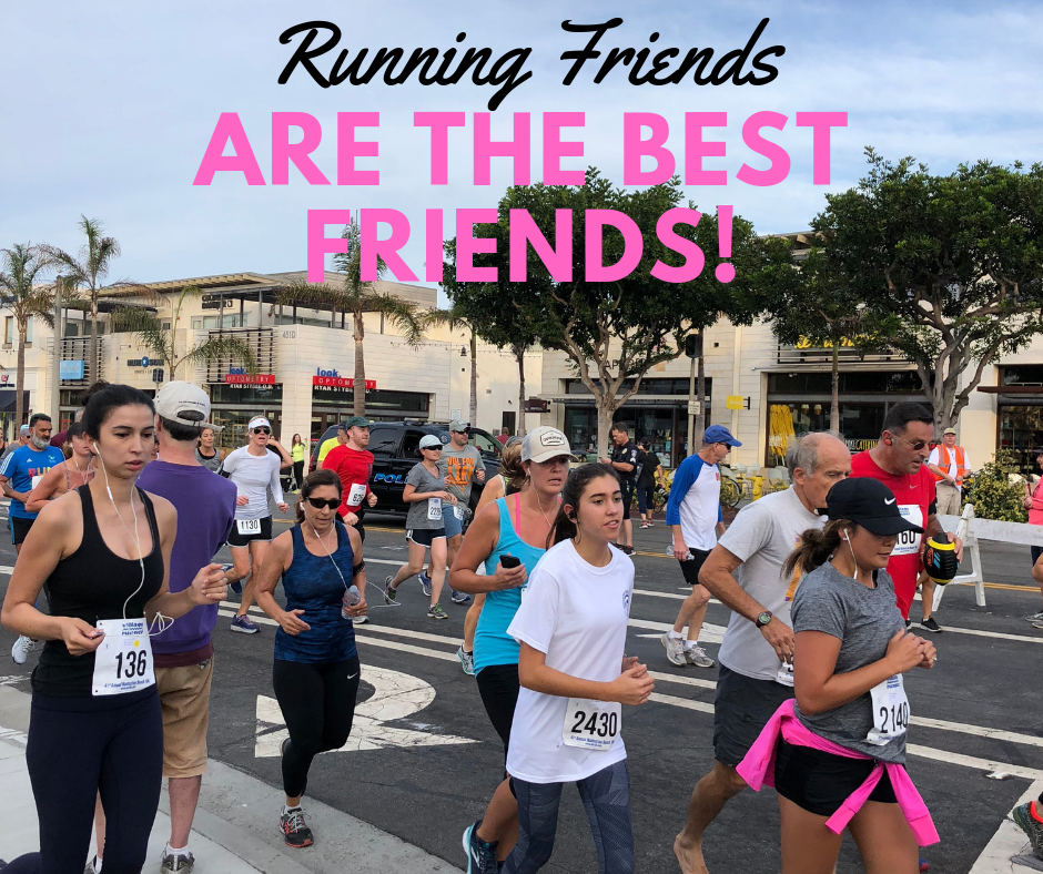 Running friends are the best friends!