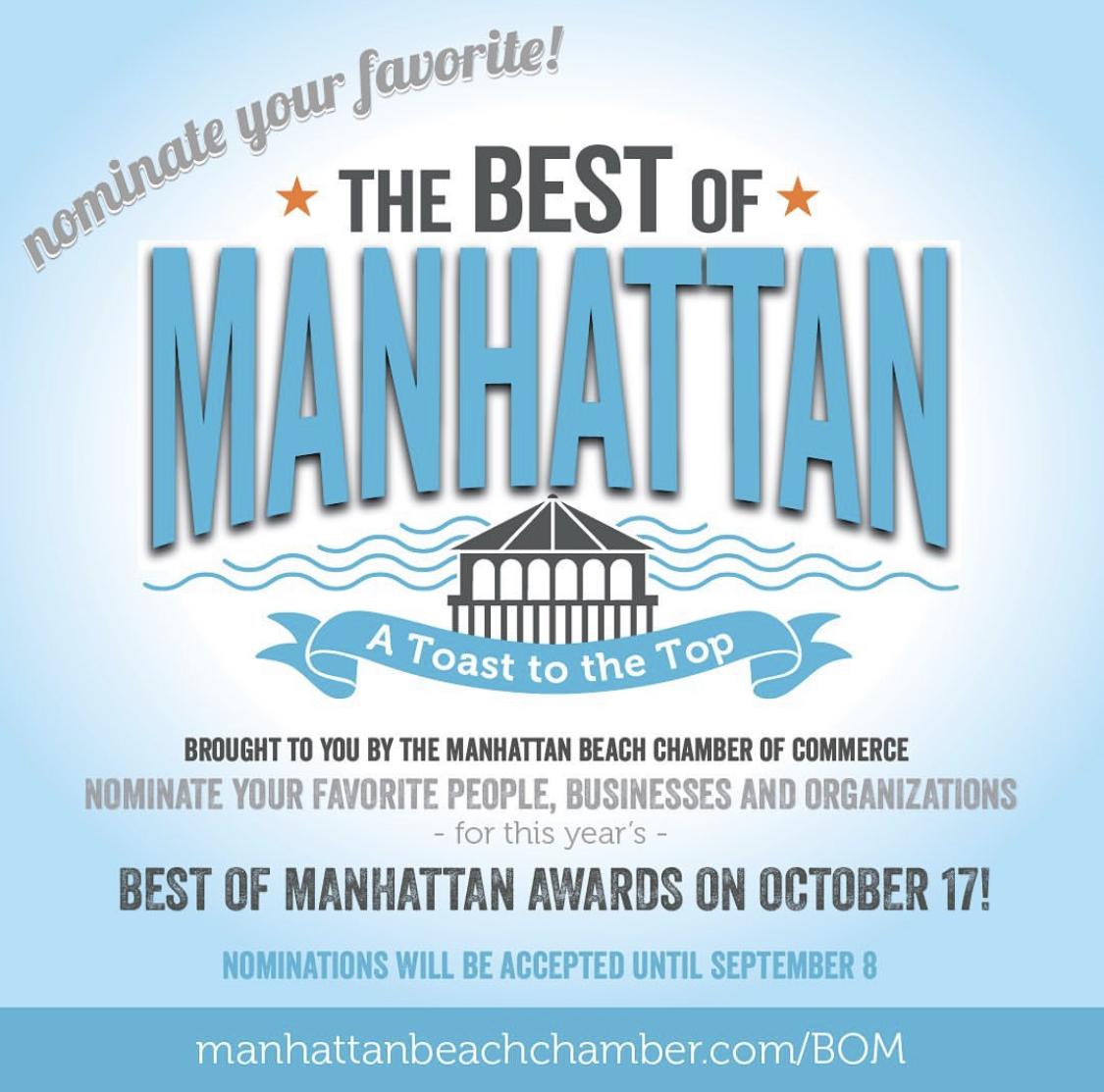 Best of Manhattan flyer.