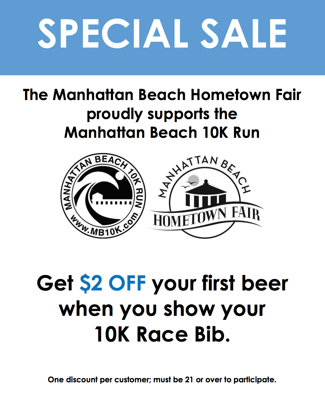 MB Hometown Fair MB10k Bib promo