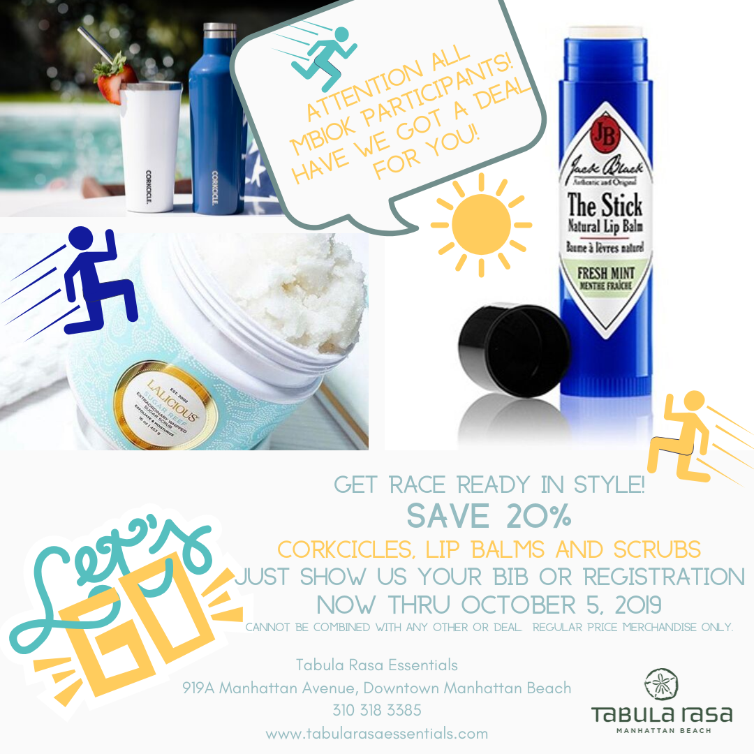 Tabula Rasa MB10k bib promotion deal
