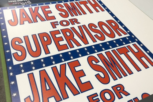 Election Signs -