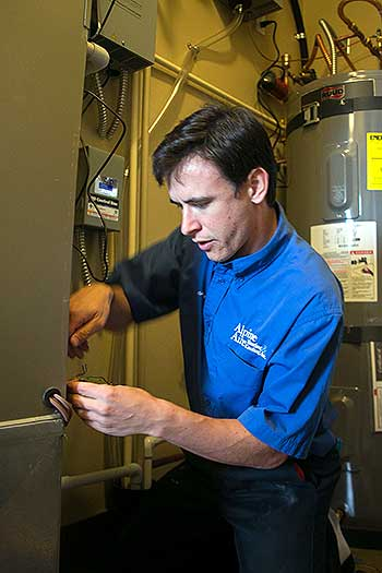 All of our service technicians are NATE certified.