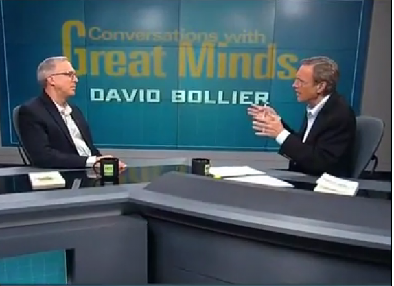 David Bollier Explains What the Commons Is & Is Not, in his appearance on the show Conversations with Great Minds