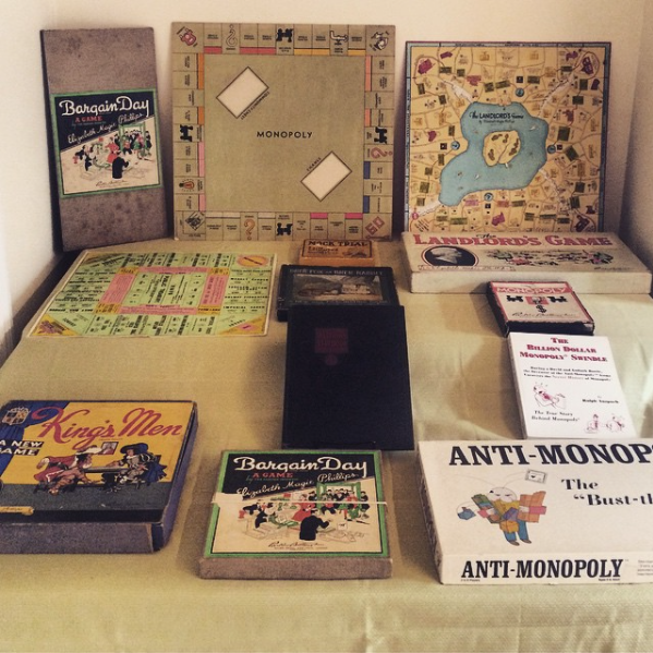 Monopoly-related board games.  by  Mary Pilon