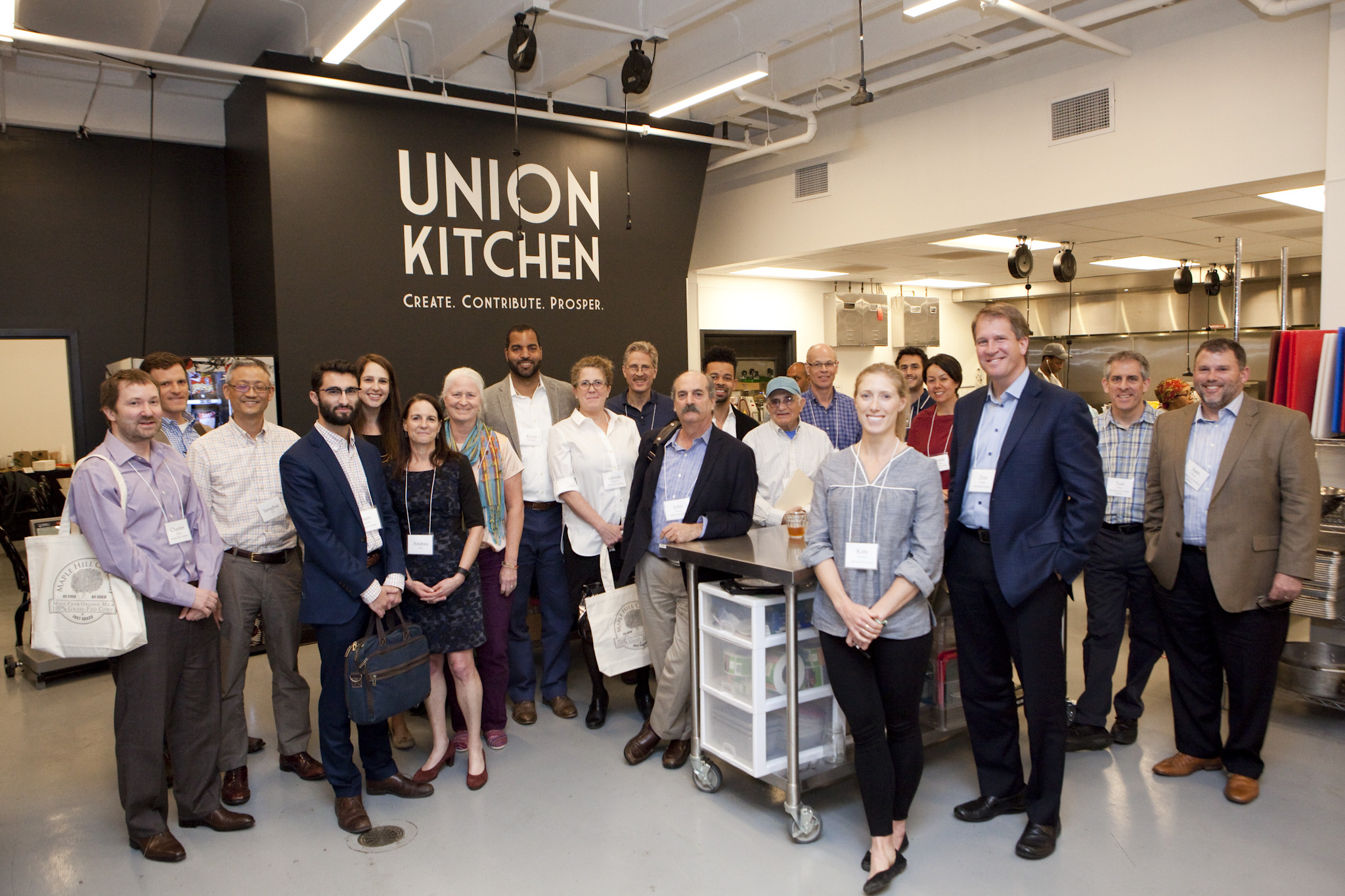 RSF Staff at Union Kitchen  for a pricing meeting