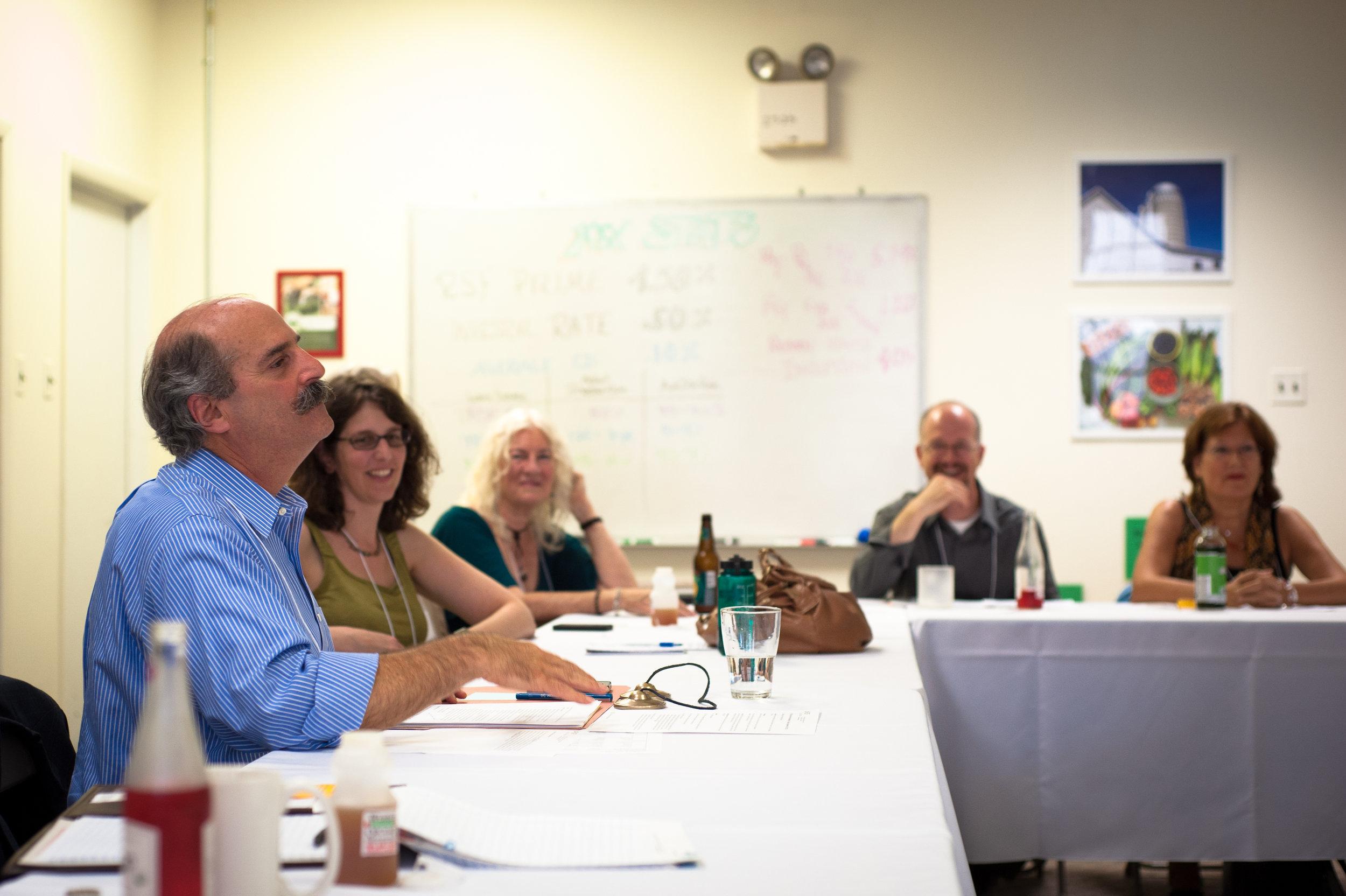 John Bloom facilitates a pricing meeting