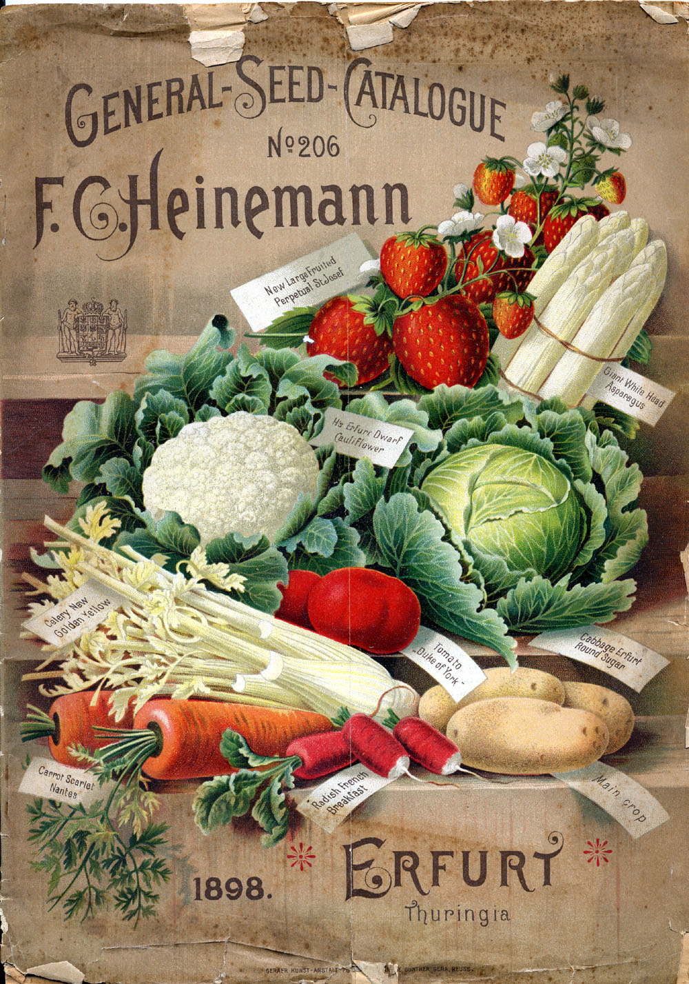 General Seed Catalogue from 1898  by  Public.Resource.Org