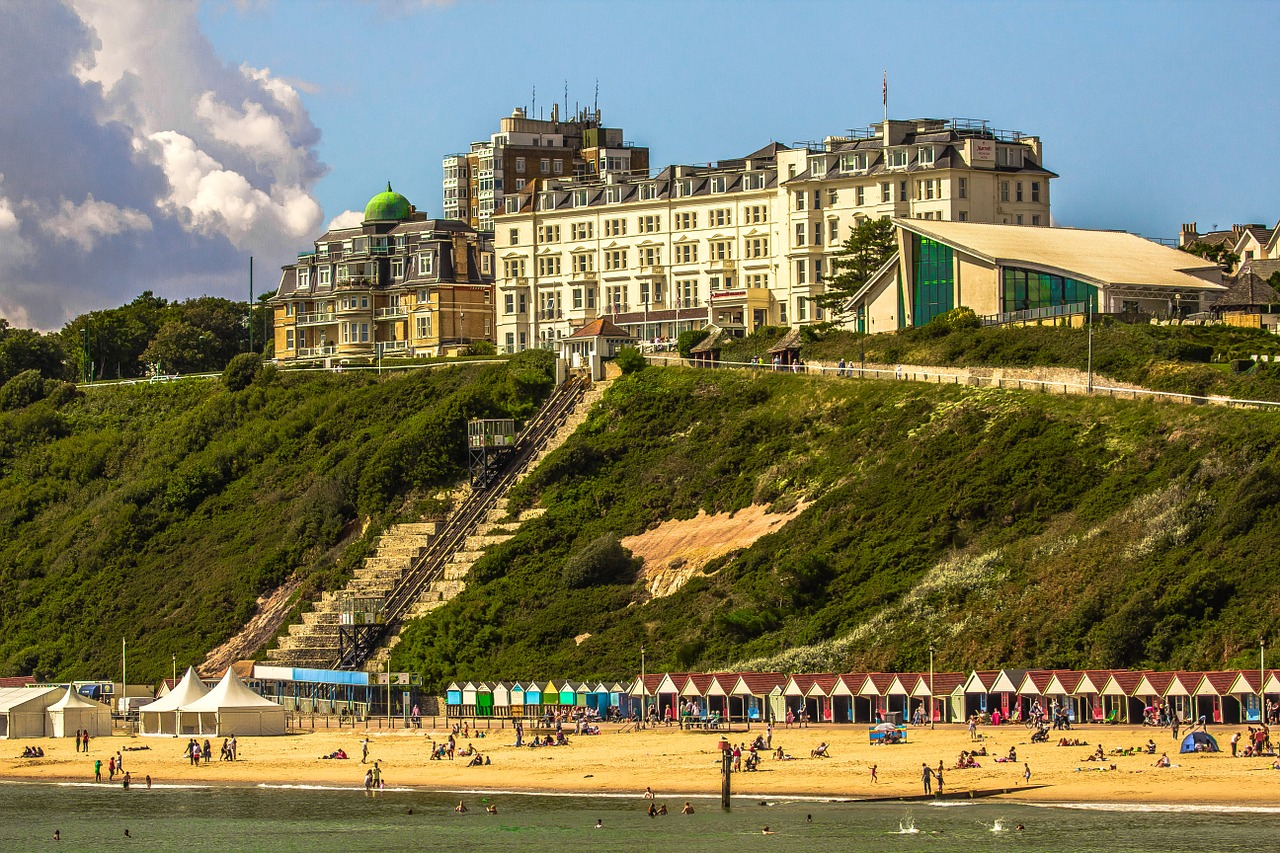 Bournemouth, the English seaside town where Colin spent summers   by Diego Torres