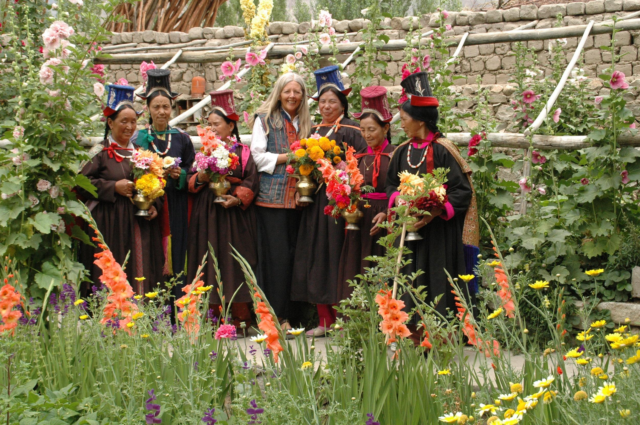 Helena and the Ama-les, Ladakh, India