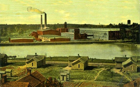 Cone Mills cotton mill, Greensboro, NC, 1914   Source