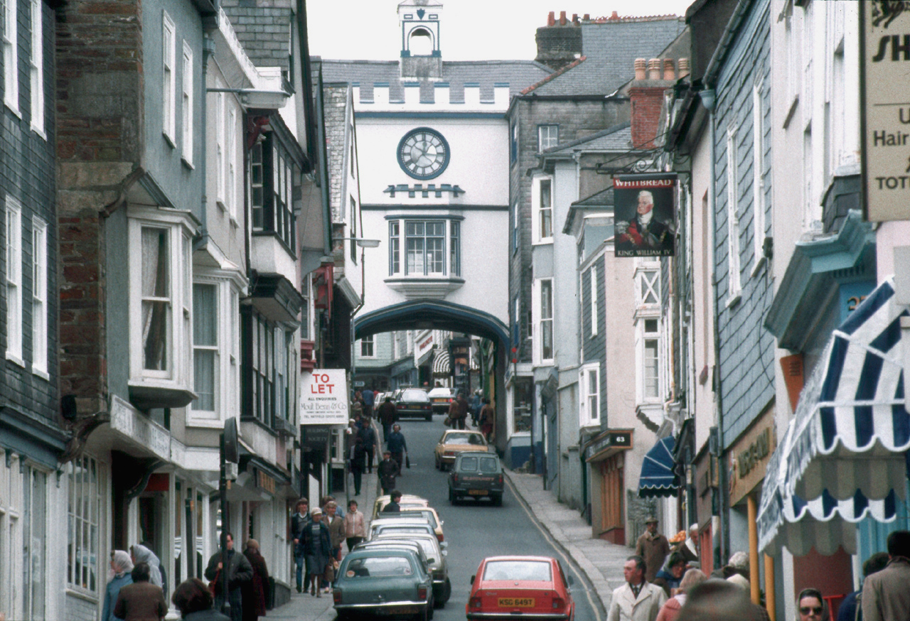 """Site of first """"Transition Town"""" effort, Totnes, England  By  Manfred Heyde"""