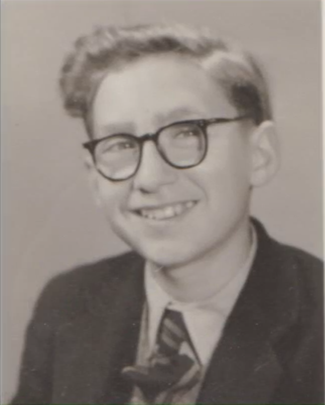 Colin Greer, age 6, 1949