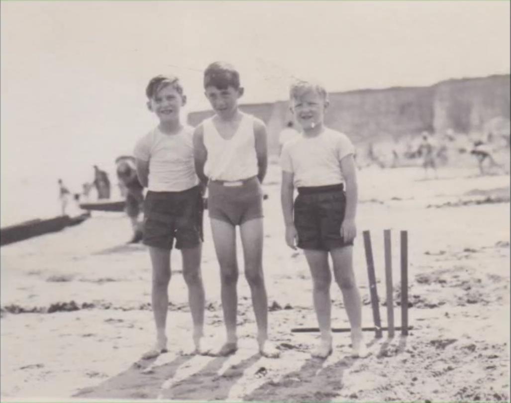 Colin Greer, far left