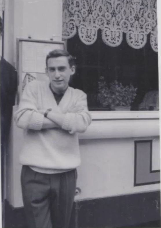 Colin Greer, age 18, 1961