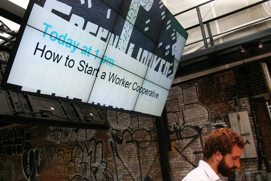 How to Start a Worker Cooperative at the Guggenheim Lab